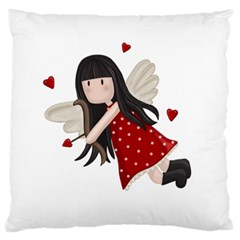 Cupid Girl Standard Flano Cushion Case (one Side) by Valentinaart