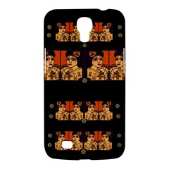 Geisha With Friends In Lotus Garden Having A Calm Evening Samsung Galaxy Mega 6 3  I9200 Hardshell Case by pepitasart