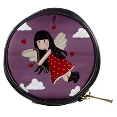 Cupid Girl Mini Makeup Bags by Valentinaart
