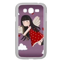 Cupid Girl Samsung Galaxy Grand Duos I9082 Case (white) by Valentinaart