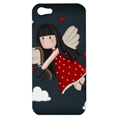 Cupid Girl Apple Iphone 5 Hardshell Case by Valentinaart