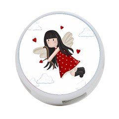 Cupid Girl 4 Port Usb Hub (two Sides)  by Valentinaart
