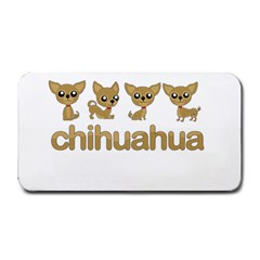 Chihuahua Medium Bar Mats by Valentinaart