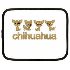 Chihuahua Netbook Case (xl)  by Valentinaart