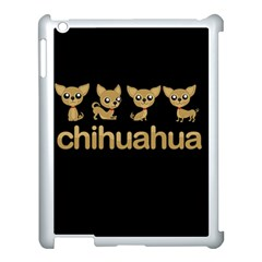 Chihuahua Apple Ipad 3/4 Case (white) by Valentinaart