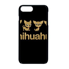 Chihuahua Apple Iphone 8 Plus Seamless Case (black) by Valentinaart