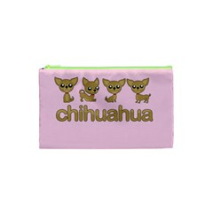 Chihuahua Cosmetic Bag (xs) by Valentinaart