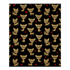 Chihuahua Pattern Shower Curtain 60  X 72  (medium)  by Valentinaart