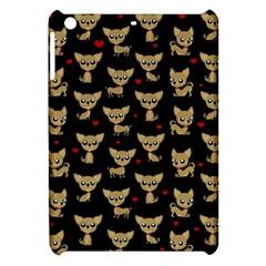 Chihuahua Pattern Apple Ipad Mini Hardshell Case by Valentinaart