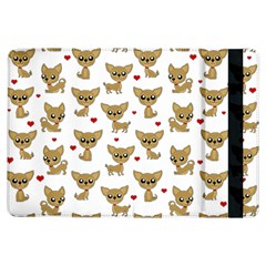 Chihuahua Pattern Ipad Air Flip by Valentinaart