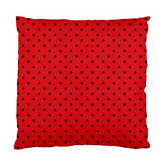 Ladybug Standard Cushion Case (two Sides) by jumpercat
