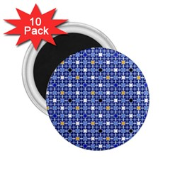 Persian Block Sky 2 25  Magnets (10 Pack)  by jumpercat