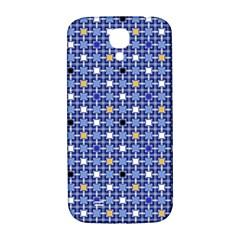 Persian Block Sky Samsung Galaxy S4 I9500/i9505  Hardshell Back Case by jumpercat