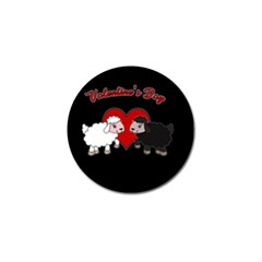 Valentines Day   Sheep  Golf Ball Marker (10 Pack) by Valentinaart