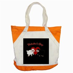Valentines Day   Sheep  Accent Tote Bag by Valentinaart