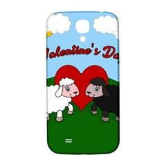 Valentines Day   Sheep  Samsung Galaxy S4 I9500/i9505  Hardshell Back Case by Valentinaart