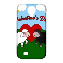 Valentines Day   Sheep  Samsung Galaxy S4 Classic Hardshell Case (pc+silicone) by Valentinaart