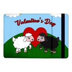 Valentines Day   Sheep  Samsung Galaxy Tab Pro 10 1  Flip Case by Valentinaart