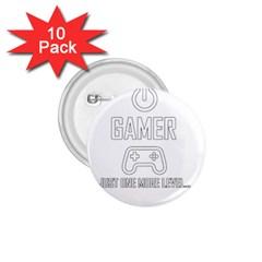 Gamer 1 75  Buttons (10 Pack) by Valentinaart