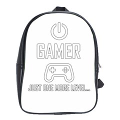 Gamer School Bag (large) by Valentinaart