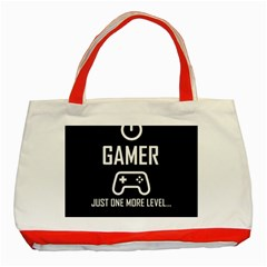 Gamer Classic Tote Bag (red) by Valentinaart
