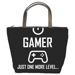 Gamer Bucket Bags by Valentinaart