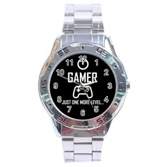 Gamer Stainless Steel Analogue Watch by Valentinaart