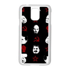 Communist Leaders Samsung Galaxy S5 Case (white) by Valentinaart