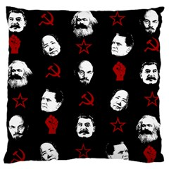 Communist Leaders Standard Flano Cushion Case (two Sides) by Valentinaart
