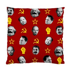 Communist Leaders Standard Cushion Case (one Side) by Valentinaart