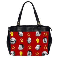Communist Leaders Office Handbags (2 Sides)  by Valentinaart