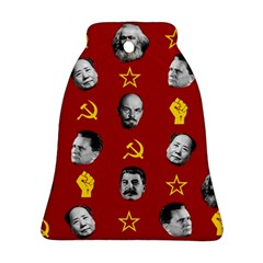 Communist Leaders Bell Ornament (two Sides) by Valentinaart