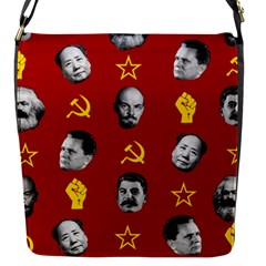 Communist Leaders Flap Messenger Bag (s) by Valentinaart