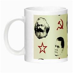 Communist Leaders Night Luminous Mugs by Valentinaart