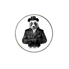 Rorschach Panda Hat Clip Ball Marker (10 Pack) by jumpercat