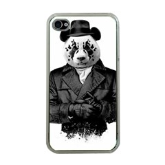Rorschach Panda Apple Iphone 4 Case (clear) by jumpercat