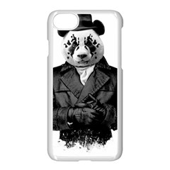 Rorschach Panda Apple Iphone 7 Seamless Case (white) by jumpercat