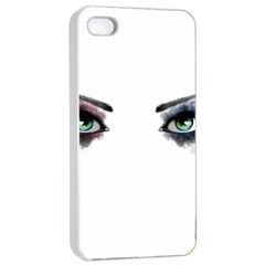 Look Of Madness Apple Iphone 4/4s Seamless Case (white) by jumpercat