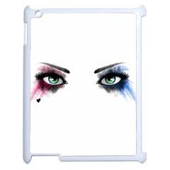 Look Of Madness Apple Ipad 2 Case (white) by jumpercat