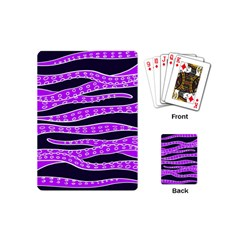 Purple Tentacles Playing Cards (mini)  by jumpercat