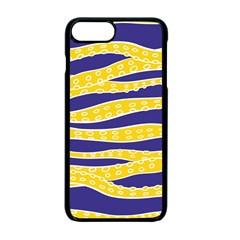 Yellow Tentacles Apple Iphone 7 Plus Seamless Case (black)