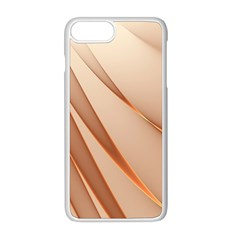 Background Light Glow Abstract Art Apple Iphone 8 Plus Seamless Case (white) by Nexatart