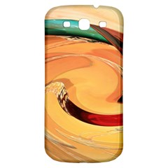 Spiral Abstract Colorful Edited Samsung Galaxy S3 S Iii Classic Hardshell Back Case