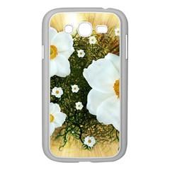 Summer Anemone Sylvestris Samsung Galaxy Grand Duos I9082 Case (white) by Nexatart