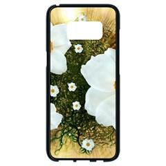 Summer Anemone Sylvestris Samsung Galaxy S8 Black Seamless Case by Nexatart