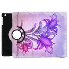 Flowers Flower Purple Flower Apple Ipad Mini Flip 360 Case by Nexatart