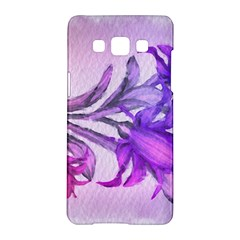 Flowers Flower Purple Flower Samsung Galaxy A5 Hardshell Case  by Nexatart