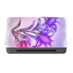 Flowers Flower Purple Flower Memory Card Reader With Cf by Nexatart