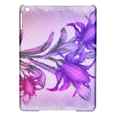 Flowers Flower Purple Flower Ipad Air Hardshell Cases by Nexatart