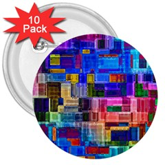 Background Art Abstract Watercolor 3  Buttons (10 Pack)  by Nexatart